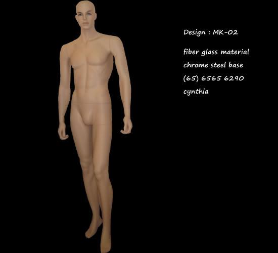 Mannequin Male Skin Color Mk-02