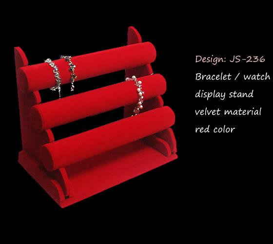 velvet 3tier bracelet stand